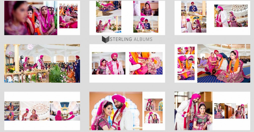 Sample Wedding Album Designs - 1