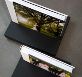 white leather wedding album sterling albums